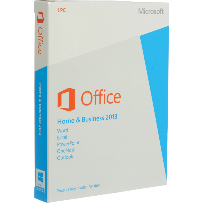Microsoft Office 2013 Home and Business Licenta electronica