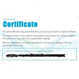Certificat Windows 7 Professional