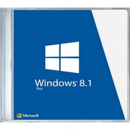 Windows 8.1 Professional 32/64 bit, DVD