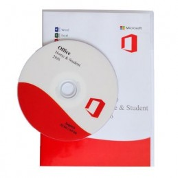 Microsoft Office 2016 Home and Student, DVD, Engleza, Retail