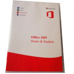 Office 2019 Home and Student carcasa DVD